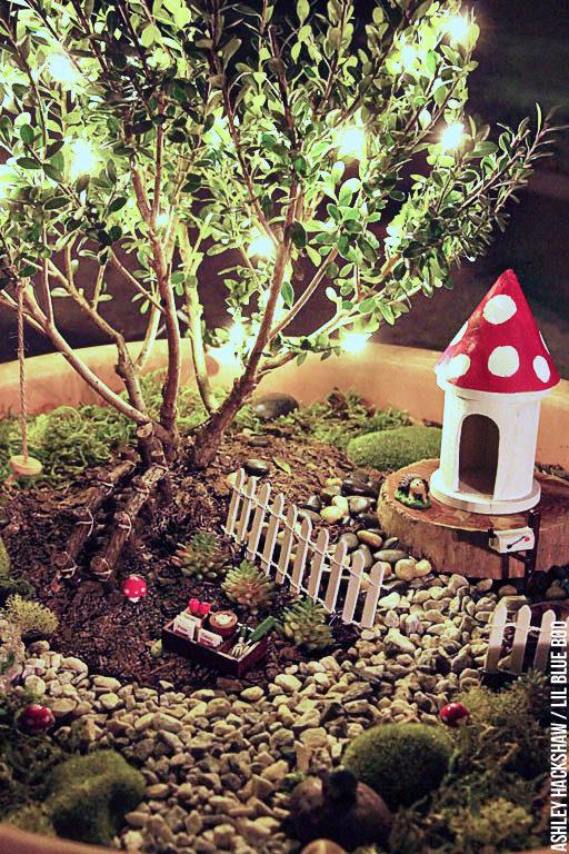 Fairy Garden Lights - tiny light garland
