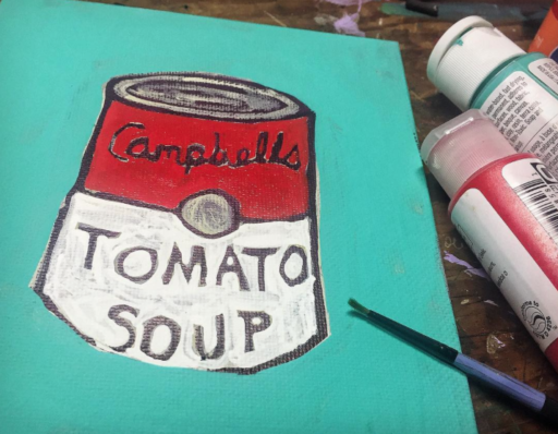 Daily Painting - Campbell's Tomato Soup