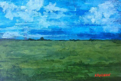 Landscape Painting - Artist: Ashley Hackshaw