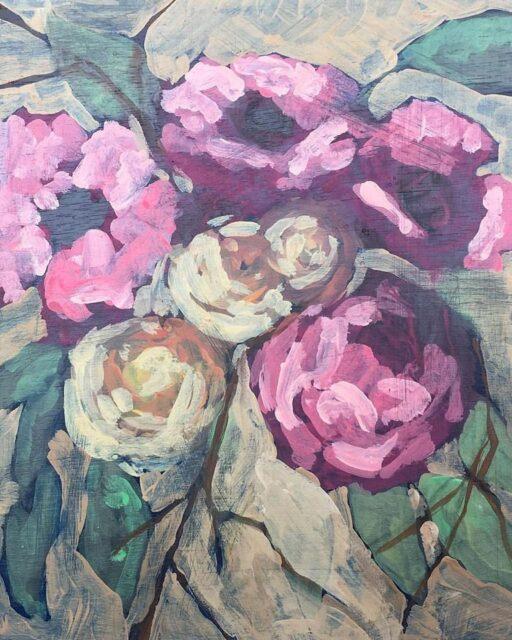 Floral Painting - Artist: Ashley Hackshaw