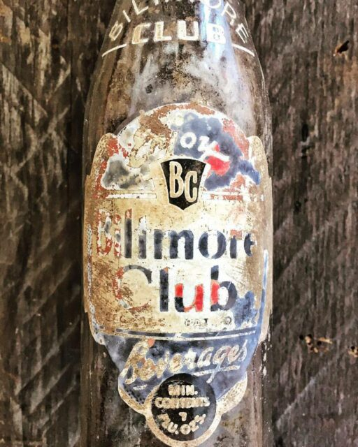 Found at the farmhouse - Biltmore Club Beverage Bottle c. 1940's