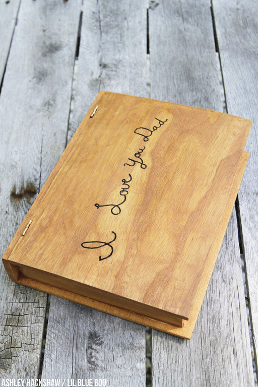 How to make a watch box - wood burning project