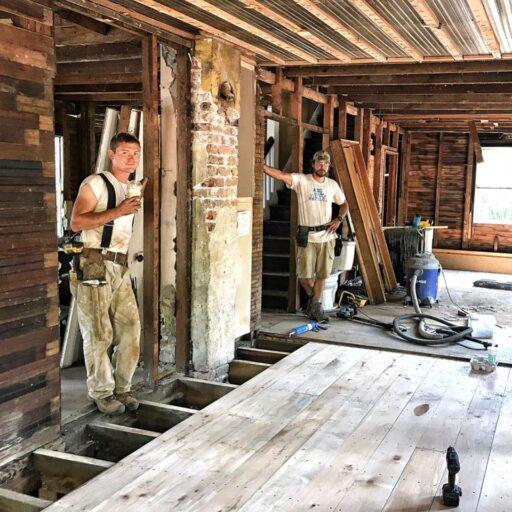 Bryson City Farmhouse Renovation - Restoring the 100 year old farmhouse