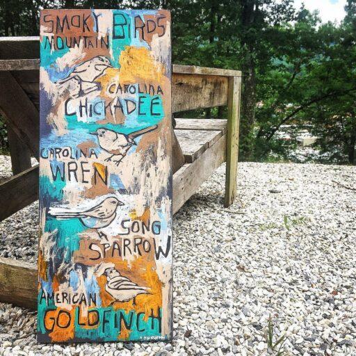 Birds in the Smoky Mountains - Carolina Chickadee, Carolina Wren, Song Sparrow, American Goldfinch