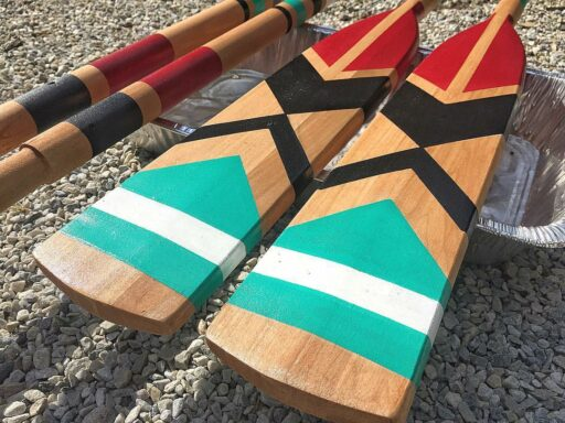 Painted Paddle Art