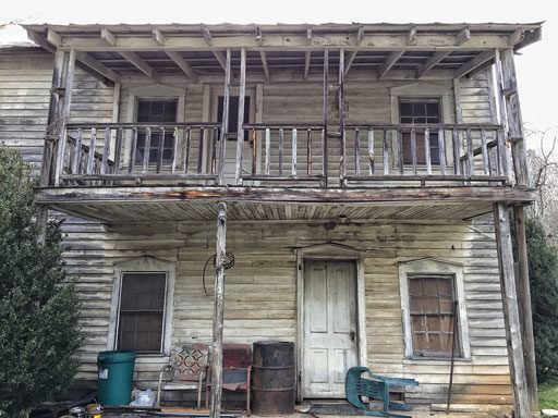 The Whittier Hotel - An Old Railroad Boarding House