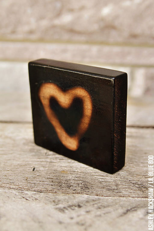 How to: DIY Burned Wood Finish - Wood burning projects