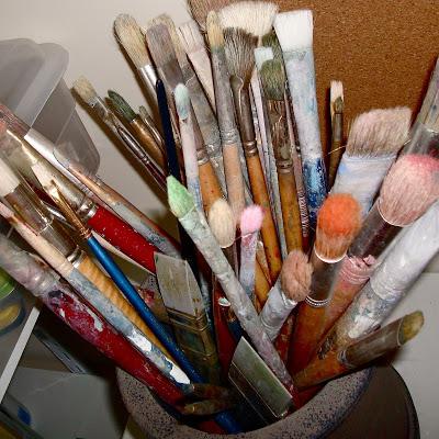 Studio Envy paint brushes via lilblueboo.com