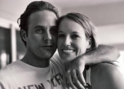 Brett and Ashley via lilblueboo.com