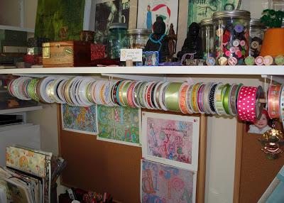 Ribbon Organizing via lilblueboo.com