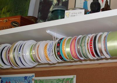 Ribbon Organizing 2 via lilblueboo.com