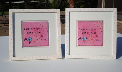 Nursery Paintings, Baby Sprinkle, and Birthday Surprise via lilbluebool.com