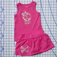Top tutortials week -Reverse applique pink pirate via lilblueboo.com