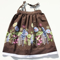 Top tutortials week -Border Fabric Sundress via lilblueboo.com