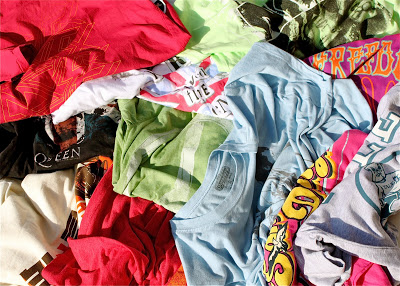 My T-Shirt Loot (and Pink Super Hero Boots!) via lilblueboo.com