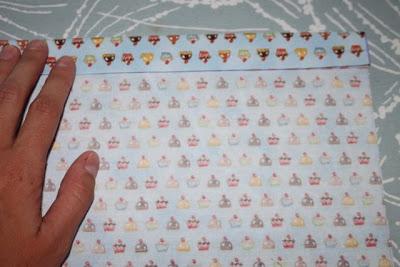 Cupcake Applique Shirt and Matching Skirt step 2 via lilblueboo.com