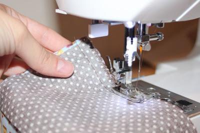 Cupcake Applique Shirt and Matching Skirt step 4 via lilblueboo.com