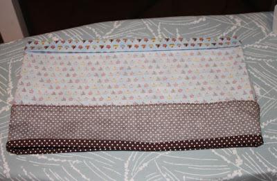 Cupcake Applique Shirt and Matching Skirt step 7 via lilblueboo.com