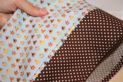 Cupcake Applique Shirt and Matching Skirt step 8 via lilblueboo.com