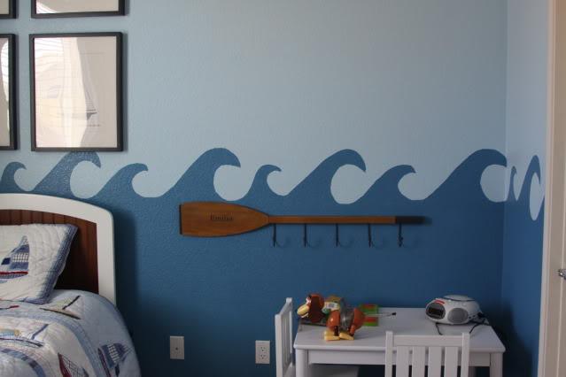 The Finished Waves Border 2 via lilblueboo.com