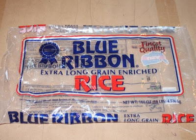 Rice bag / sack plastic belt - DIY Tutorial via lilblueboo.com