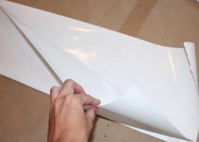 Step 2 Ironing Cover - DIY Tutorial via lilblueboo.com