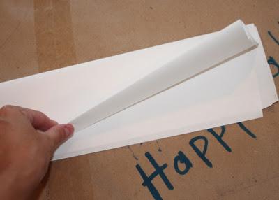 Step 3 Ironing Cover - DIY Tutorial via lilblueboo.com