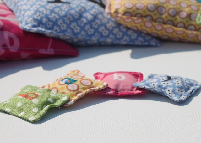 """Wannabe"" Beanbags miniature via lilblueboo.com"