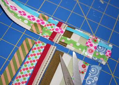 Scrap Ribbon Belt (A Tutorial) step 8 via lilblueboo.com