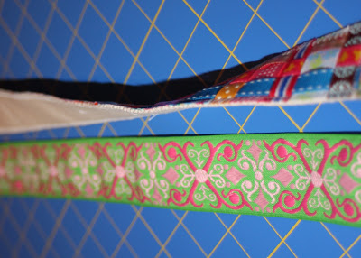 Scrap Ribbon Belt (A Tutorial) step 14 via lilblueboo.com