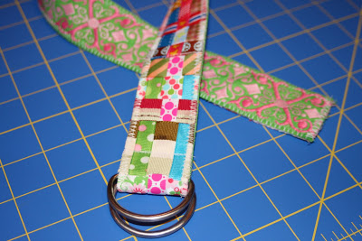 Scrap Ribbon Belt (A Tutorial) step finished via lilblueboo.com