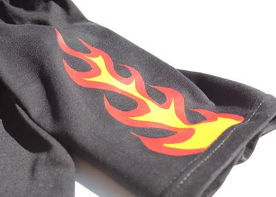 Flaming Pants tutorial via lilblueboo.com