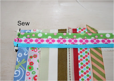 Scrap Ribbon Belt (A Tutorial) step 4 via lilblueboo.com