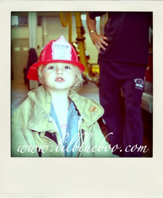 Poladroid a Photo Boo Fire Station via lilblueboo.com