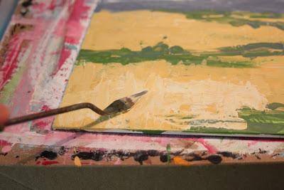 How to Fake a Landscape Painting (A Tutorial) step 12 via lillbueboo.com