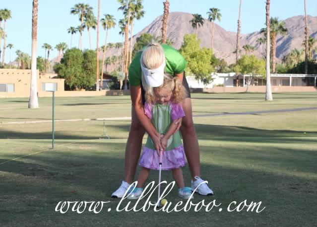 The Original Lil Golf Girl 3 via lilblueboo.com