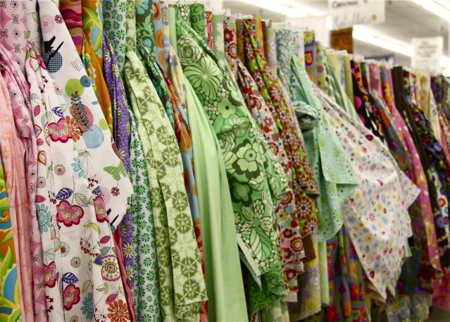 Fabric Heaven 12 via lilblueboo.com