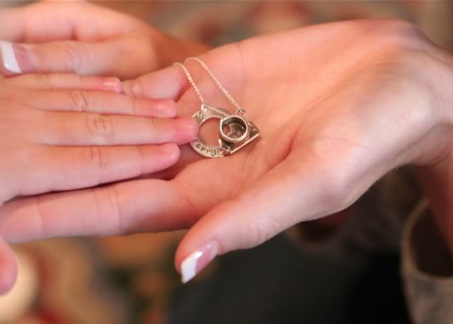 Wedding Part V: Preview necklace via lilblueboo.com