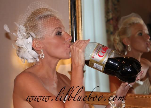 Wedding Part V: Preview Diet Coke via lilblueboo.com