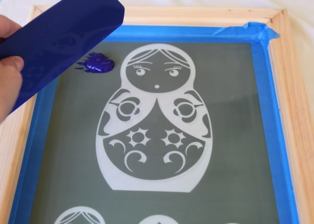 How to screen print 101 - ink well -  via lilblueboo.com