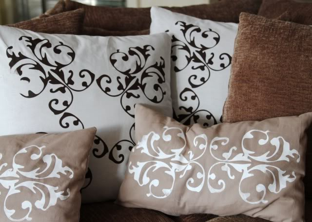 Screen Printed Drapes Amp Pillows A Tutorial Ashley