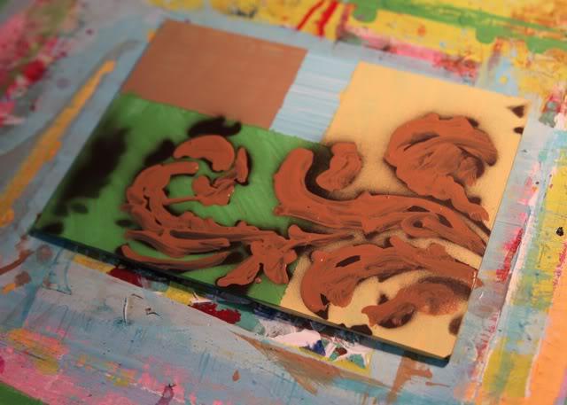 Layering Paint for Depth A Tutorial Ashley Hackshaw Lil Blue Boo