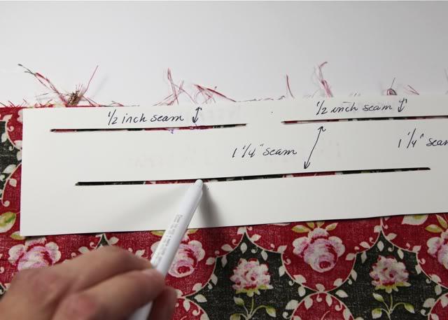 A template for hemming via lilblueboo.com