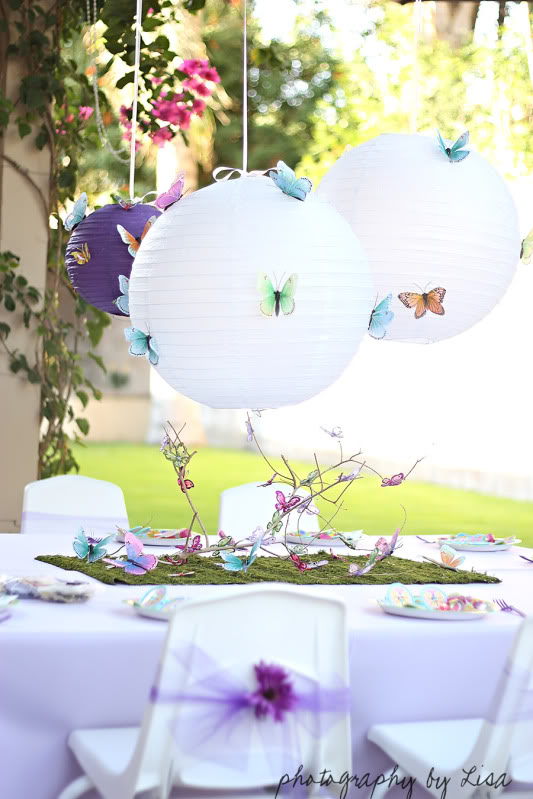 Butterfly Birthday Party Ashley Hackshaw Lil Blue Boo