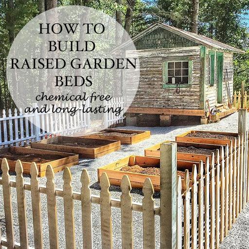 Raised Garden Bed Construction: Building Raised Cedar Garden Beds