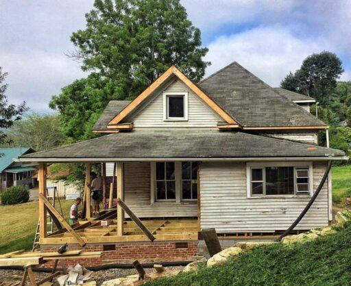 New Porch for the Farmhouse