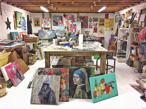 Ashley Hackshaw Artist - Art Studio - Great Smoky Mountains