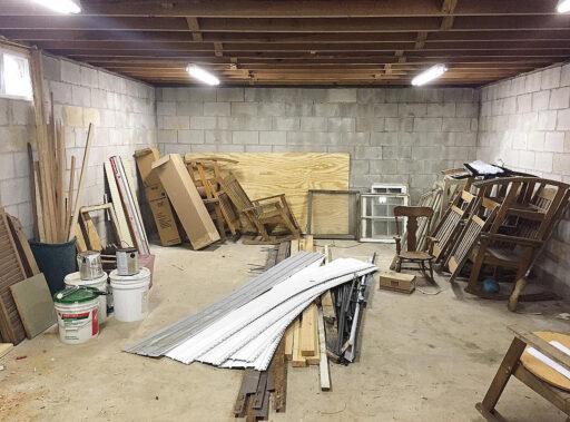 Creating an Art Studio - Basement Art Studio Transformation - Ashley Hackshaw - My art studio transformation over the past few years.