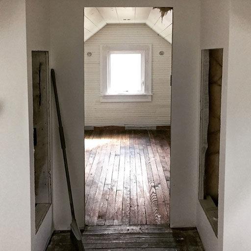 Farmhouse Floors - Saving and Refinishing