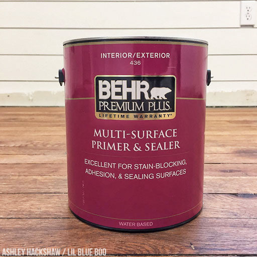 What kind of paint to use on a wood floor